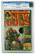 Bronze Age (1970-1979):Superhero, The New Gods #1 (DC, 1971) CGC NM 9.4 White pages. First appearances of Orion, Lightray, Metron, Highfather, and Kalibak. Ja...