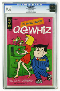 O. G. Whiz #1 File Copy (Gold Key, 1971) CGC NM+ 9.6 Off-white pages. Overstreet 2006 NM- 9.2 value = $80. CGC census 4/...