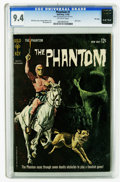 Phantom #1 File Copy (Gold Key, 1962) CGC NM 9.4 Off-white pages. Skull cover. George Wilson painted cover. Bill Lignant...