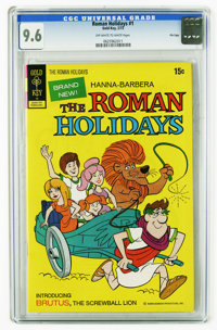Roman Holidays, The #1 File Copy (Gold Key, 1973) CGC NM+ 9.6 Off-white to white pages. Highest CGC grade for this issue...