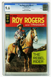 Roy Rogers and Trigger #1 File Copy (Gold Key, 1967) CGC NM+ 9.6 Off-white to white pages. Photo cover. Overstreet 2006...