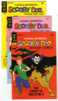 Scooby Doo Group (Gold Key, 1971-74) Condition: Average VF/NM. Lot consists of six Scooby Doo books. Included: #5, 6, an...