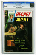 Silver Age (1956-1969):Adventure, Secret Agent #2 File Copy (Gold Key, 1968) CGC NM- 9.2 Off-white to white pages. Sal Trapani art. Photo cover. Overstreet 20...