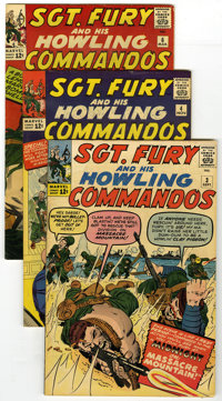 Sgt. Fury and His Howling Commandos Group (Marvel, 1963-65). Military action as only Sgt. Fury can deliver is featured i...
