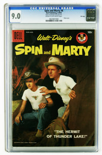 Spin and Marty #6 File Copy (Dell, 1958) CGC VF/NM 9.0 Cream to off-white pages. Photo cover. Overstreet 2006 VF/NM 9.0...