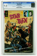 Bronze Age (1970-1979):Science Fiction, Star Trek #16 File Copy (Gold Key, 1972) CGC VF/NM 9.0 Off-white to white pages. Painted cover. Alberto Giolitti art. Overst...