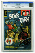 Star Trek #18 File Copy (Gold Key, 1973) CGC NM 9.4 Off-white pages. Painted cover by George Wilson. Alberto Giolitti an...