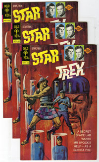 Star Trek #26 (Gold Key, 1974) Condition: Average NM-. Lot of five copies of Star Trek #26. George Wilson painted cover...