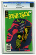 Bronze Age (1970-1979):Science Fiction, Star Trek #45 File Copy (Gold Key, 1977) CGC NM+ 9.6 Off-white to white pages. Photo cover. Overstreet 2006 NM- 9.2 value = ...