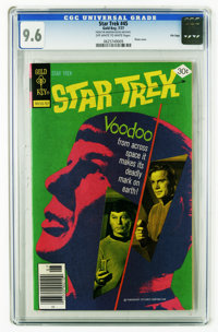 Star Trek #45 File Copy (Gold Key, 1977) CGC NM+ 9.6 Off-white to white pages. Photo cover. Overstreet 2006 NM- 9.2 valu...