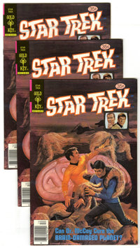 Star Trek #58 (Gold Key, 1978) Condition: Average VF/NM. Group of ten copies of Star Trek #58 (painted cover) . Approxim...
