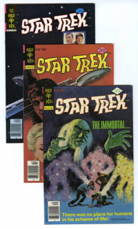 Star Trek #47-48 and 55 Group (Gold Key, 1977-78) Condition: Average VF. Included are #47 (two copies), 48, and 55. Appr...