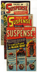 Silver Age (1956-1969):Superhero, Tales of Suspense Group (Marvel, 1961-65). Key first appearances of Iron Man's fiercest enemies are featured in this group w... (Total: 5 Comic Books)