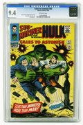 Silver Age (1956-1969):Superhero, Tales to Astonish #83 (Marvel, 1966) CGC NM 9.4 Off-white pages. Hulk and Sub-Mariner appear. Jack Kirby and Bill Everett co...