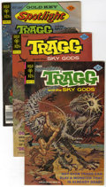 Bronze Age (1970-1979):Miscellaneous, Tragg and the Sky Gods Group (Gold Key/Whitman, 1976-82) Condition:Average VF/NM. This lot contains duplicate copies of sev...