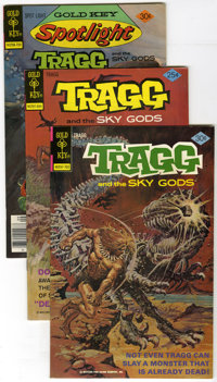 Tragg and the Sky Gods Group (Gold Key/Whitman, 1976-82) Condition: Average VF/NM. This lot contains duplicate copies of...