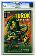 Silver Age (1956-1969):Adventure, Turok #62 File Copy (Gold Key, 1968) CGC VF/NM 9.0 Off-white pages. Painted cover. Alberto Giolitti art. Overstreet 2006 VF/...