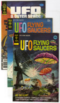 """UFO and Outer Space Group/UFO Flying Saucers (Gold Key, 1968-80) Condition: Average VF/NM. This box lot of """"UFO&quo..."""