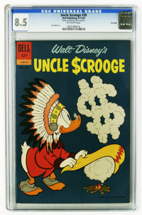 Uncle Scrooge #39 File Copy (Dell, 1962) CGC VF+ 8.5 Off-white pages. Carl Barks art. Overstreet 2006 VF 8.0 value = $79...