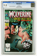 Modern Age (1980-Present):Superhero, Wolverine #11 (Marvel, 1989) CGC NM/MT 9.8 White pages. New costume. Kevin Nowlan cover. John Buscema and Bill Sienkiewicz a...