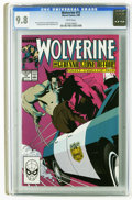 Modern Age (1980-Present):Superhero, Wolverine #12 (Marvel, 1989) CGC NM/MT 9.8 White pages. Kevin Nowlan cover. John Buscema and Bill Sienkiewicz art. Overstree...