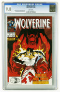 Modern Age (1980-Present):Superhero, Wolverine #13 (Marvel, 1989) CGC NM/MT 9.8 White pages. Kevin Nowlan cover. John Buscema and Bill Sienkiewicz art. Highest C...