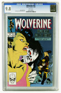 Modern Age (1980-Present):Superhero, Wolverine #15 (Marvel, 1989) CGC NM/MT 9.8 White pages. Kevin Nowlan cover. John Buscema and Bill Sienkiewicz art. Highest C...