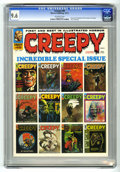 Magazines:Horror, Creepy #48 (Warren, 1972) CGC NM+ 9.6 Off-white pages.. Text story frontispiece (first eight years of Creepy). 1972 Year...