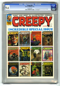 Creepy #48 (Warren, 1972) CGC NM+ 9.6 Off-white pages.. Text story frontispiece (first eight years of Creepy). 1972 Year...