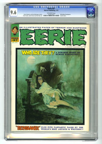 Eerie #37 (Warren, 1972) CGC NM+ 9.6 Off-white pages. Enrich Torres cover art. Ernie Colon and Ken Barr art. Overstreet...
