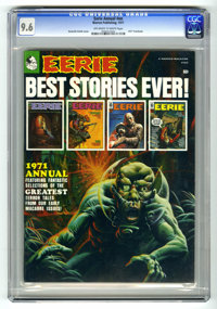Eerie Annual #1971 (Warren, 1971) CGC NM+ 9.6 Off-white to white pages. Kenneth Smith cover. Gene Colan, Johnny Craig, R...