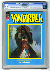 Vampirella #14 (Warren, 1971) CGC NM+ 9.6 Off-white to white pages. Esteban Maroto's first work for Warren. Other artist...