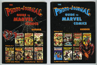 Photo-Journal Guide to Marvel Comics Vol. 3-4 (Gerber, 1991). This set features more than 7,500 color photos of Marvel C...