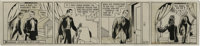 Phil Davis - Mandrake the Magician Daily Comic Strip Original Art, dated 6-10-40 (King Features Syndicate, 1940). Mandra...