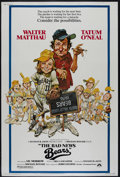 "Movie Posters:Sports, The Bad News Bears (Paramount, 1976). Poster (40"" X 60""). Sports Comedy. Directed by Michael Ritchie. Starring Walter Mattha..."