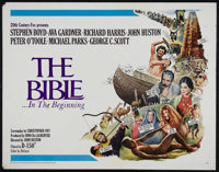 """The Bible...In the Beginning (20th Century Fox, 1966). Half Sheet (22"""" X 28""""). Biblical Drama. Directed by Joh..."""