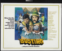 "Busting (United Artists, 1974). Half Sheet (22"" X 28""). Comedy Drama. Directed by Peter Hyams. Starring Elliot..."