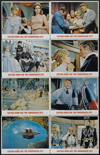 """Captain Nemo and the Underwater City (MGM, 1969). Lobby Card Set of 8 (11"""" X 14""""). Adventure. Directed by Jame..."""
