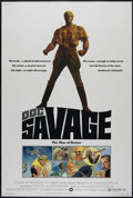 """Movie Posters:Adventure, Doc Savage (Warner Brothers, 1975). Poster (40"""" X 60""""). Comic BookAction. Directed by Michael Anderson. Starring Ron Ely, P..."""