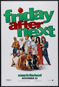 "Movie Posters:Comedy, Friday After Next (New Line, 2002). One Sheet (27"" X 41""). Comedy. Directed by Marcus Raboy. Starring Ice Cube, Mike Epps, D..."
