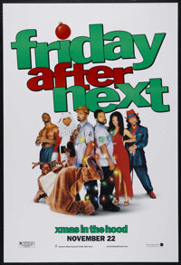 "Friday After Next (New Line, 2002). One Sheet (27"" X 41""). Comedy. Directed by Marcus Raboy. Starring Ice Cube..."