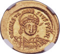 Ancients:Byzantine, Ancients: Anastasius I (AD 491-518). AV solidus (22mm, 4.47 gm,6h). ...