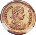 Ancients:Roman Imperial, Ancients: Valentinian II, Western Roman Emperor (AD 375-392). AVsolidus (21mm, 4.43 gm, 11h)....