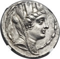 Ancients:Greek, Ancients: SYRIA. Seleucia Pieria. Ca. 105-82 BC. AR tetradrachm(31mm, 14.83 gm, 12h)....