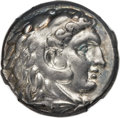 Ancients:Greek, Ancients: SICULO-PUNIC. Entella. Ca. 300 BC. AR tetradrachm (25mm,17.15 gm, 3h)....