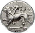 Ancients:Greek, Ancients: PELOPONNESUS. Sicyon. Ca. 400-323 BC. AR stater (25mm,12.15 gm, 1h)....