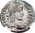 Ancients:Roman Imperial, Ancients: Constantius II (AD 337-361). AR siliqua (21mm, 2.97 gm,5h)....