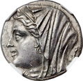 Ancients:Greek, Ancients: SICILY. Syracuse. Hieron II (275-215 BC). AR 16 litrae(25mm, 13.19 gm, 1h)....