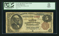 National Bank Notes:Maine, Portland, ME - $5 1882 Brown Back Fr. 467 The Casco NB Ch. # 1060....