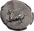 Ancients:Greek, Ancients: ACARNANIA. Anactorium. Ca. 350-300 BC. AR stater (24mm,8.38 gm, 9h)....